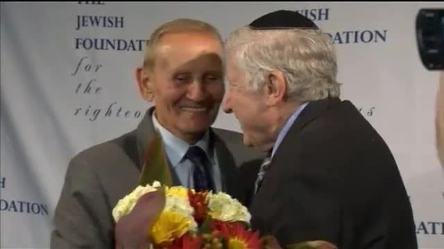 News video: Holocaust Survivor Meets Saviour